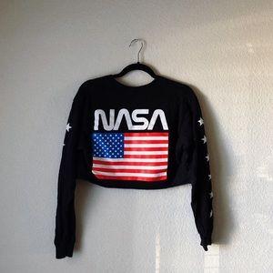 NASA crop top